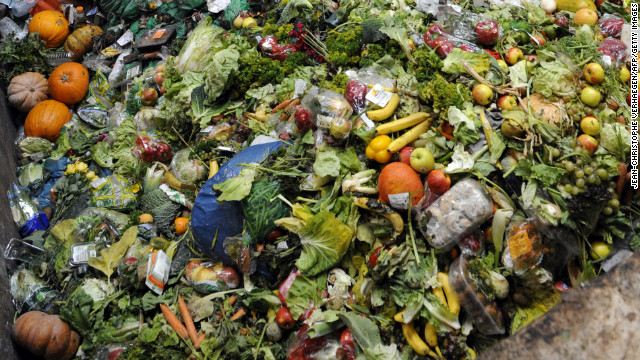 Wasted! Study finds that 4.4 billion tons of food a year goes uneaten