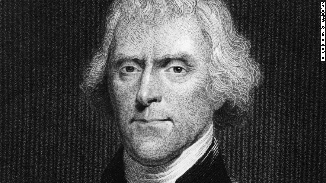 A quotation attributed to former President Thomas Jefferson, but not verified by researchers, got CNN commenters talking.