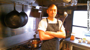 Chef Shigeki Koshiba is wary of Japan\'s revolving door leadership.