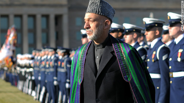 Obama and Karzai to huddle on Afghanistan
