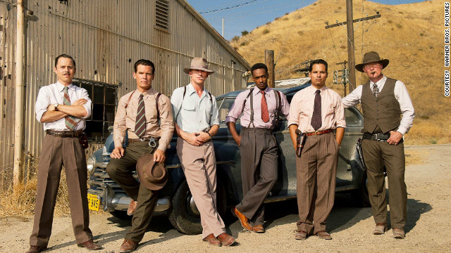 Giovanni Ribisi, Josh Brolin, Ryan Gosling, Anthony Mackie, Michael Pena and Robert Patrick in