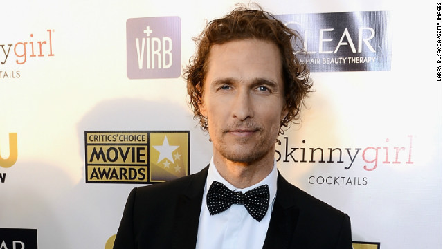 Overheard: McConaughey's weight loss secret