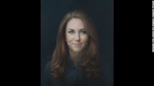 Paul Emsley's &quot;The Duchess of Cambridge&quot; has been unveiled at the National Portrait Gallery in London. The painting is the first official portrait of Catherine, wife of Britain's Prince William, at the gallery. It joins centuries-worth of official paintings and photographs of the British royal family in the gallery's collection.