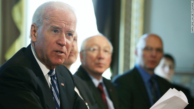 Vice President Joe Biden on Tuesday will <a href='http://www.cnn.com/2013/01/13/politics/gun-laws-battle/index.html' target='_blank'>offer a set of recommendations</a> to President Obama on how to curb gun violence. The Newtown school massacre spurred the president's creation of the federal task force.