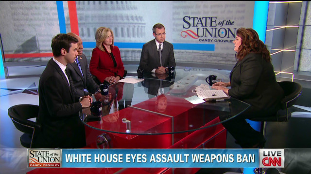 Sotu Behind Scenes >> White House eyes assault weapons ban – State of the Union - CNN.com Blogs