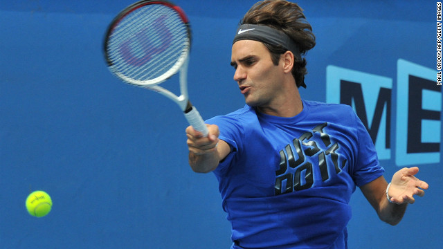 Federer\'s relaxed approach to Melbourne