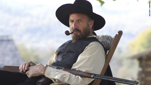 "Kevin Costner's portrayal of ""Devil"" Anse Hatfield in The History Channel's ""Hatfields & McCoys"" won the actor his second Golden Globe. He's previously won best director at the Globes for 1991's ""Dances with Wolves."""