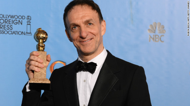 "Mychael Danna won the Golden Globe for the best original motion picture score for his work on ""Life of Pi,"" a movie he called ""the film of a lifetime"" in his acceptance speech."