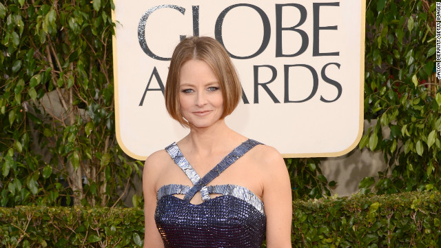 Jodie Foster puts it out there, 'loud and proud'