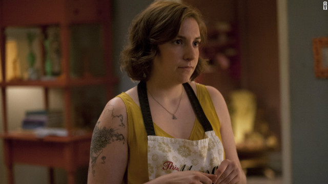 "Lena Dunham made sure to thank her fellow comedic actresses as she accepted the award for her work on ""Girls,"" which she also writes, directs and executive produces."