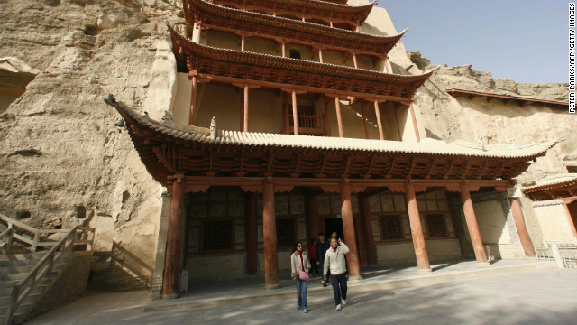 The cave featured in the prototype is part of a larger complex located in the Chinese city of Dunhuang, once a Silk Road oasis and now a Unesco world heritage site.