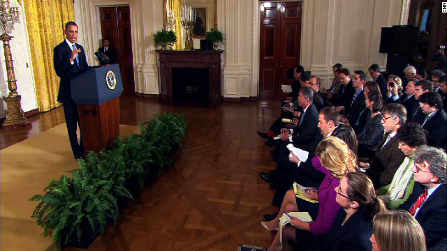 Obama talks debt ceiling, assault weapons ban at news conference