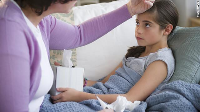 Cinco formas de proteger a los niños en la temporada de gripe