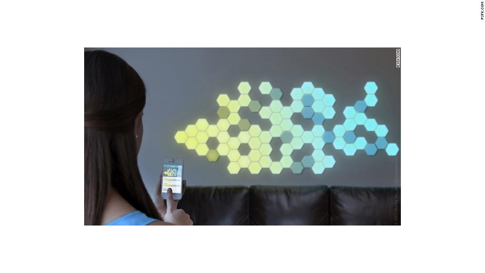 Decoración programable para paredes