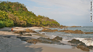 The wide white-sand beaches of Santa Teresa have become Costa Rica\'s hippest luxury escape.