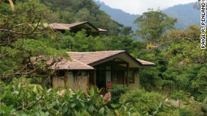 Tropical weather can be cool and comfortable in the chilly cloud forests surrounding El Silencio Lodge and Spa.
