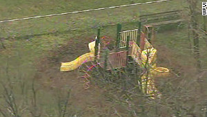 The girl was found at this Philadelphia playground early Tuesday.