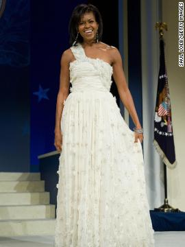 "Michelle Obama's Jason Wu inaugural ball gown helped put both the first lady and the fashion designer on fashion ""it"" lists. Click through to see styles from the last 100 years of inauguration fashion."