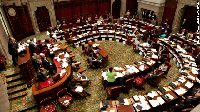 Cuomo signs first post-Newtown gun legislation into law