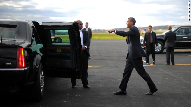 Obama limo to roll with 'Taxation Without Representation' plates