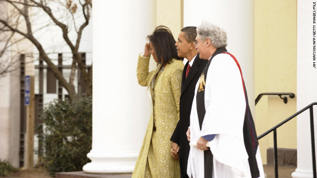 First on CNN: Obama picks D.C. Episcopal priest to deliver inauguration benediction