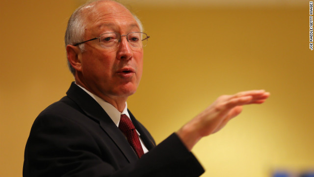 Interior&#039;s Ken Salazar stepping down