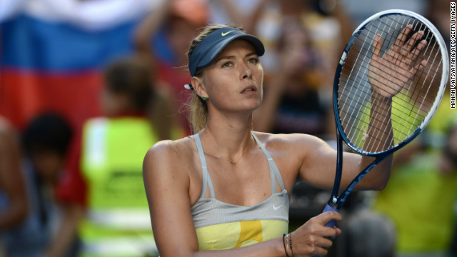 Maria Sharapova will face Venus Williams in the third round of the Australian Open following a 6-0 6-0 win over Misaki Doi. 