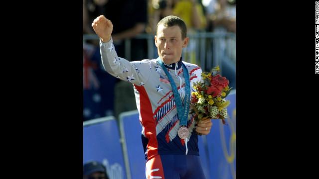 El COI pide a Armstrong devolver la medalla de bronce de los Juegos Olímpicos de Sidney