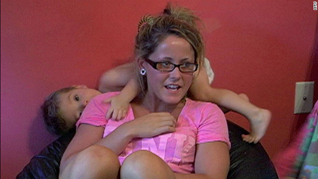 Jenelle Evans appears on MTV's 