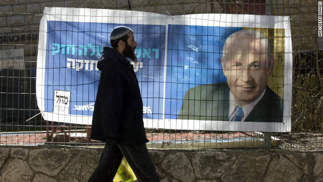 Netanyahu se perfila como ganador de las próximas elecciones de Israel