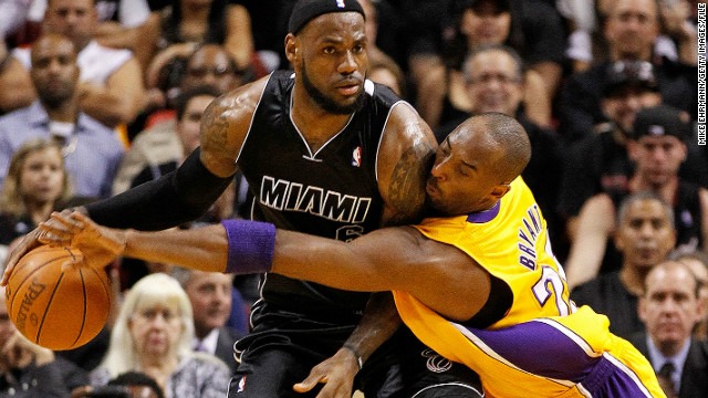 LeBron's march to 20,000 points has taken the record from the NBA's other megastar, Kobe Bryant. The L.A. Lakers stalwart reached the landmark at an age of 29 years and 122 days old, well over 12 months after LeBron.