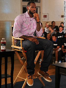 LeBron became a free agent in 2010 and with franchises clamoring to sign him, one sports network dedicated an entire show to his move. He eventually revealed he'd signed for the Miami Heat but later admitted he regretted the way his switch was handled.
