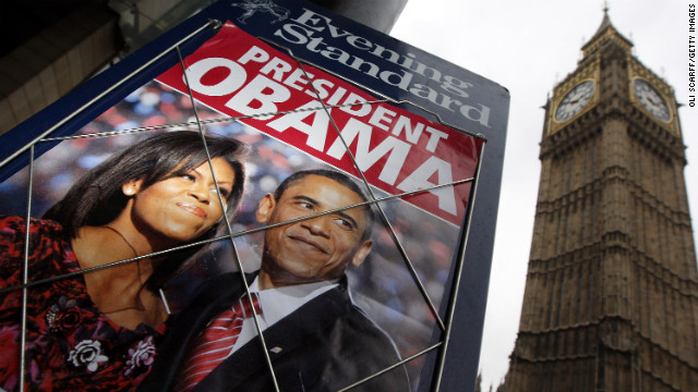 Photos: Obama\'s face all over the place