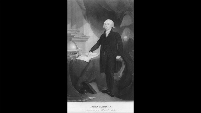 James Madison was sworn in for his first term on March 4, 1809.