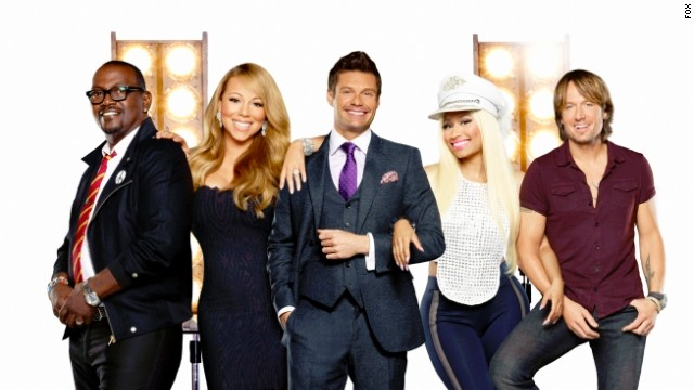 Randy Jackson, Mariah Carey, Ryan Seacrest, Nicki Minaj and Keith Urban are the new