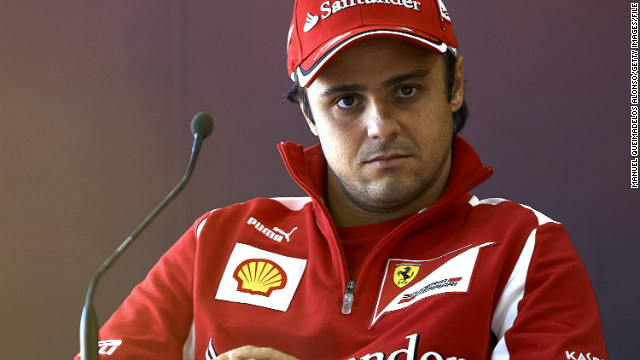 Formula One driver Felipe Massa joined Ferrari from Sauber in 2006.