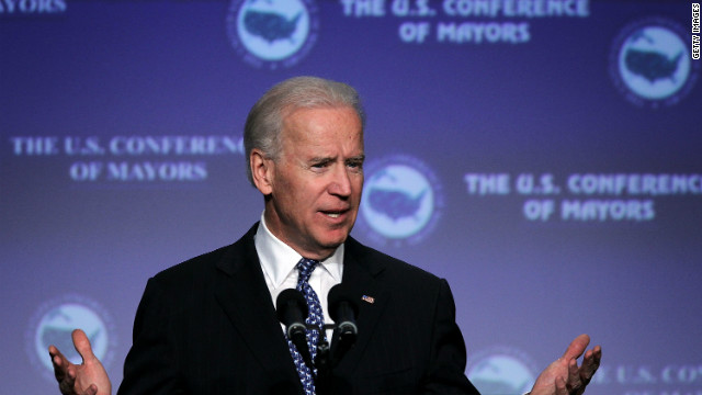Biden gets ahead of himself at inaugural party