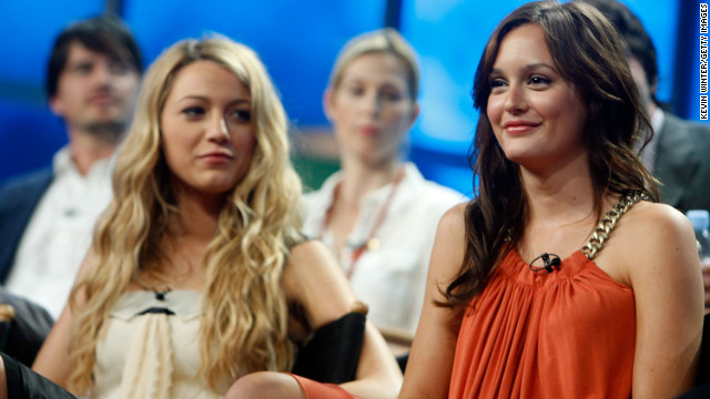 Blake Lively, left, and and Leighton Meester were among the stars of the U.S. version of