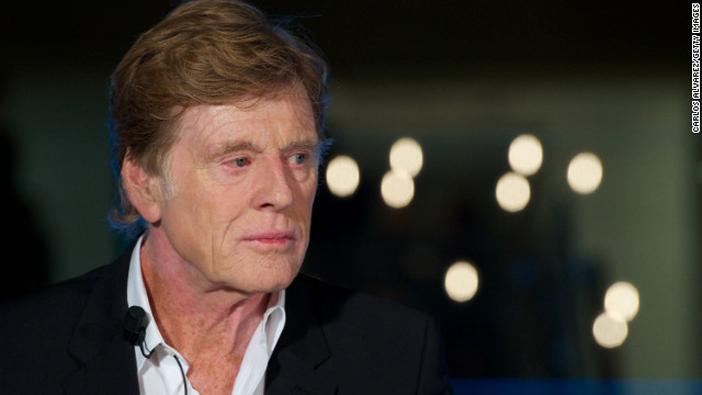 Robert Redford attends the Sundance Channel launch in Madrid in September.