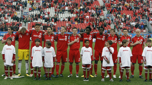 Ibrahim, seen here lining up for Toronto in the MLS, has been chosen to play for the Ethiopia national team at the Africa Cup of Nations.