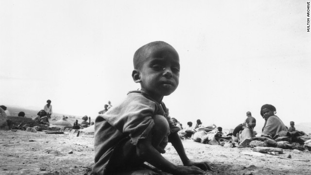 The image most people have of Ethiopia is of the devastating famine in the mid-1980s that killed millions of people. Ibrahim's family survived and left for the U.S. in the 1990s for a better life and more opportunities for their young son.