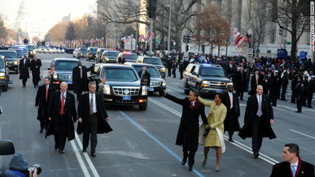10 inaugural moments that mattered