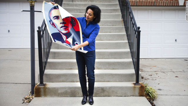 Stephanie Brunotts knocked on doors for Barack Obama. She hopes the Republicans in Congress will work with Obama in his second term.