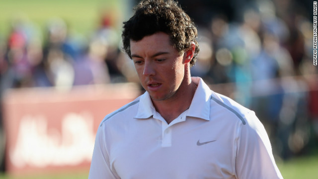World No.1 Rory McIlroy missed the cut in Abu Dhabi just days after signing huge deal with Nike.