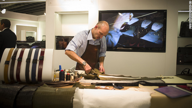 Craftsmanship and fabrics that stand the test of time have fueled a &quot;flight to quality&quot; with men paying more for something that will last, according to a representative of British heritage brand Barbour.