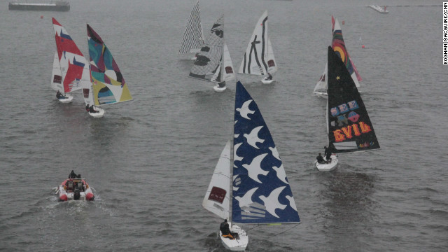 The <a href='http://fineartsails.com/' target='_blank'>CNM Estates Fine Art Sails</a> regatta, which debuted this weekend at the London Boat Show, offered up an exciting collaboration between the worlds of top-class sailing and fine art.