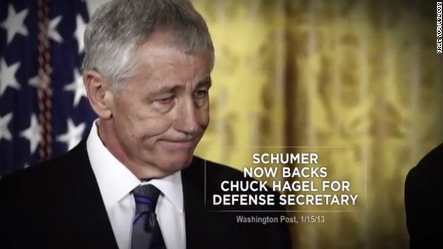 Conservative group unveils anti-Hagel TV ad