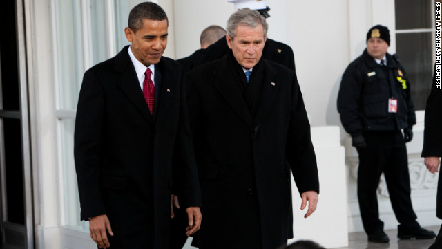 Bushes will not attend inauguration