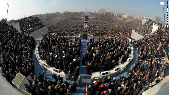 Obama to acknowledge divided Washington in Inaugural Address