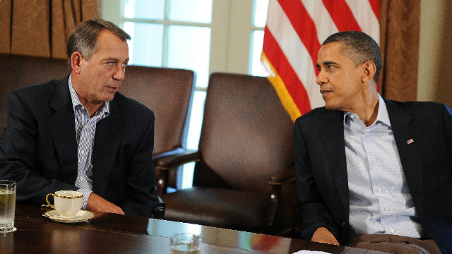 Boehner faces own challenges at beginning of Obama's second term